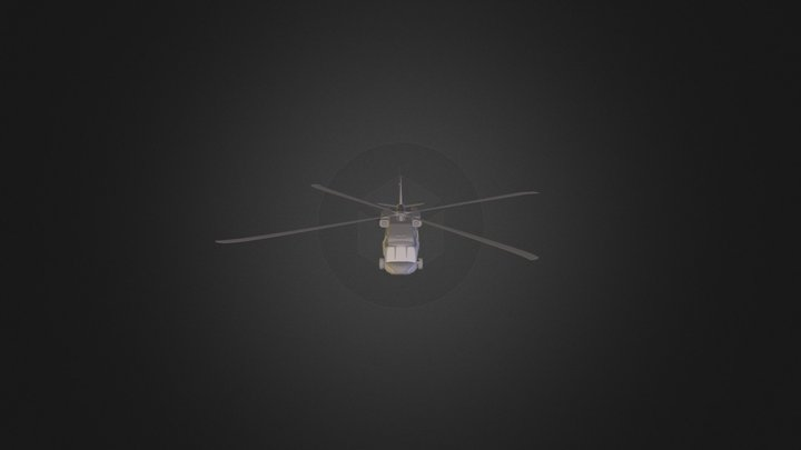 Helicopters 3D Model