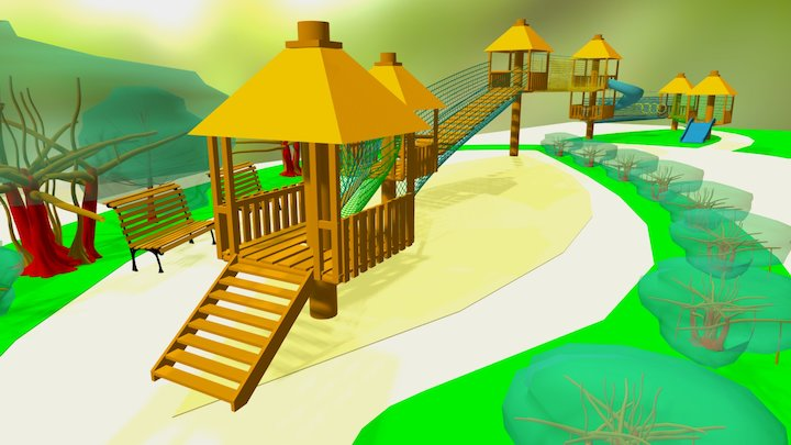 rope park Version 3 3D Model