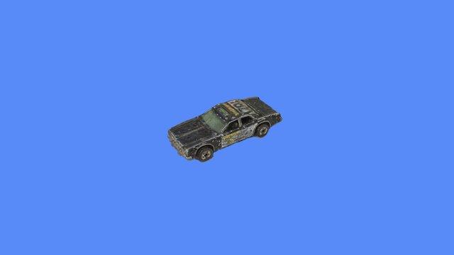 1980s MatchBox Car 3D Model