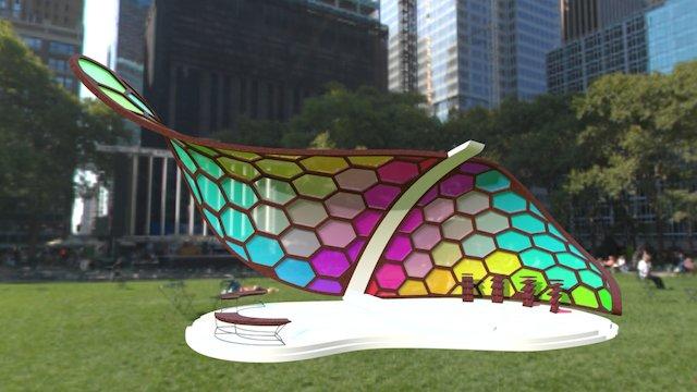 Chromaticity Pavilion 3D Model