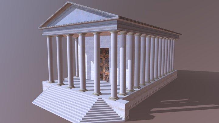 Tempio Romano 3D Model