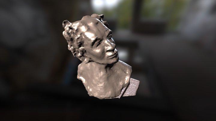 Maryline Sculpture 3D Model