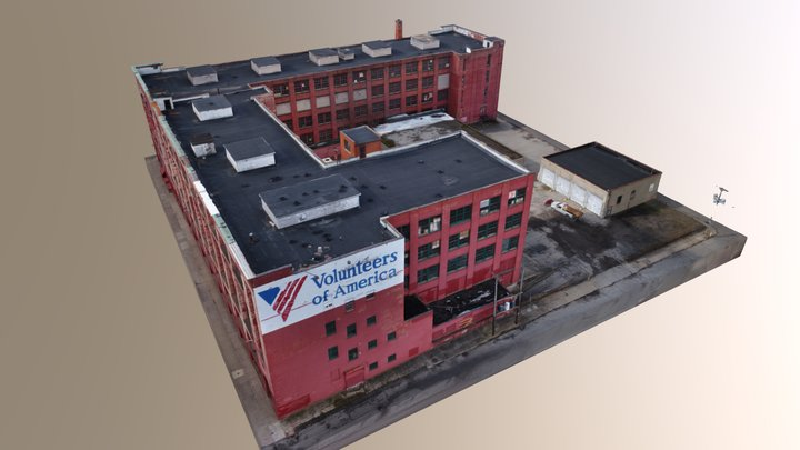 Rochester Warehouse 3D Model