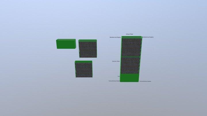 solverde komplet 3D Model