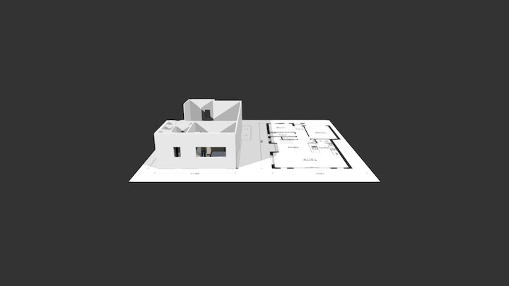 Residential from formZ 3D Model