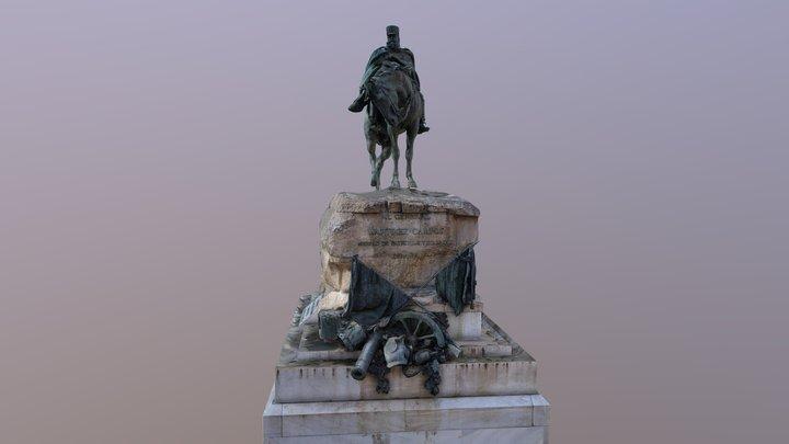 Monumento al General Campos 3D Model