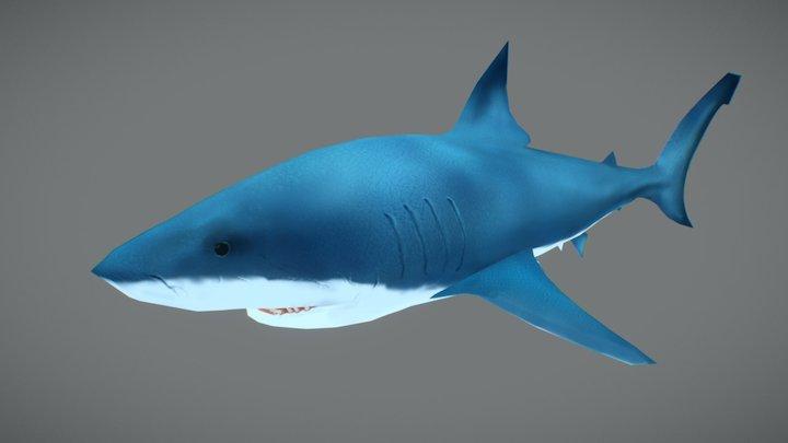 Shark for Nesquik's AR 3D Model