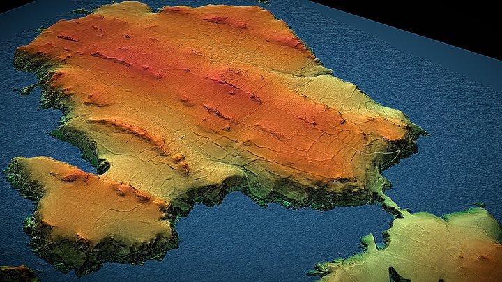 Skomer Island 3D Model