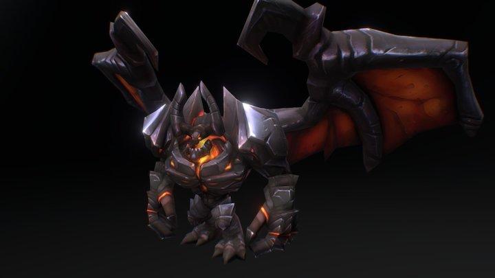 Legion TD 2 - Legion Lord 3D Model