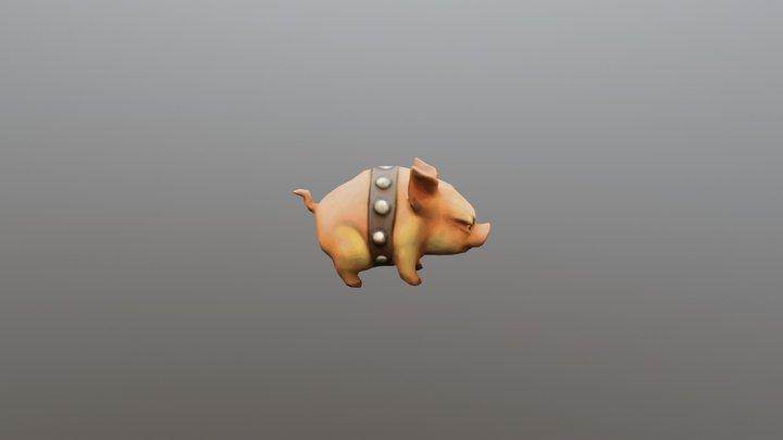 Piglet 3D Model