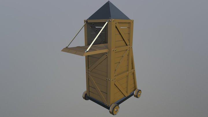 Siege Tower - Siege Equipment Assets 3D Model