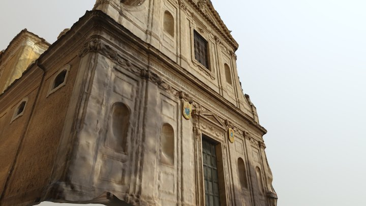 chiesa San Girolamo dei Croati 3D Model