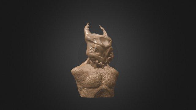 Beetle Lord 3D Model