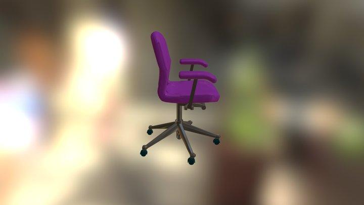 HMI Equa2 Work Chair 3ds 3D[1] 3D Model