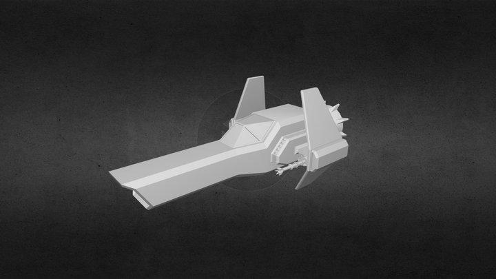 New Ship 3D Model