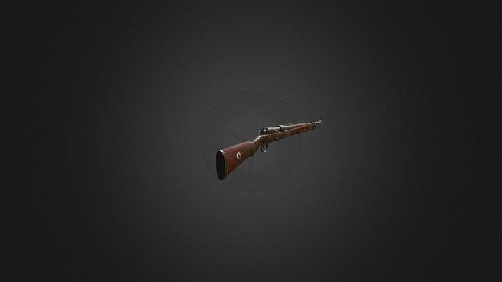 Rifle_1938 3D Model