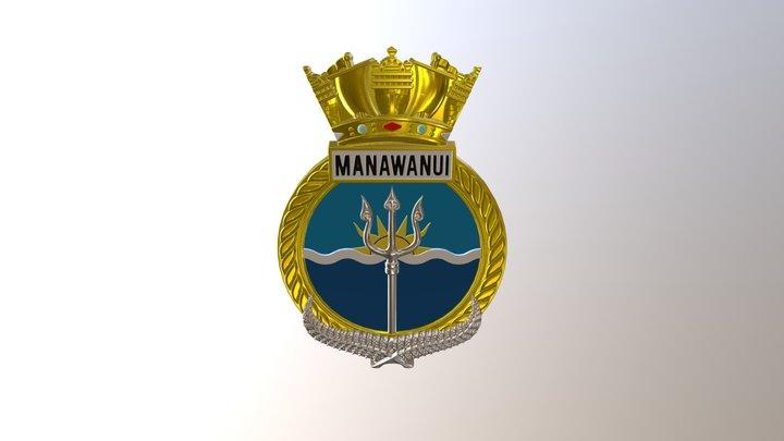 Manawanui 3D Model