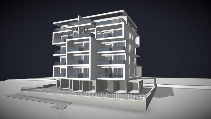 K R Residence 3D Model