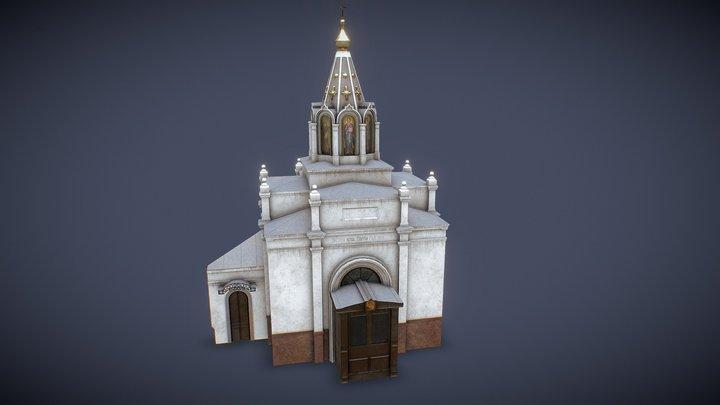 Sergius of Radonezh chapel 3D Model