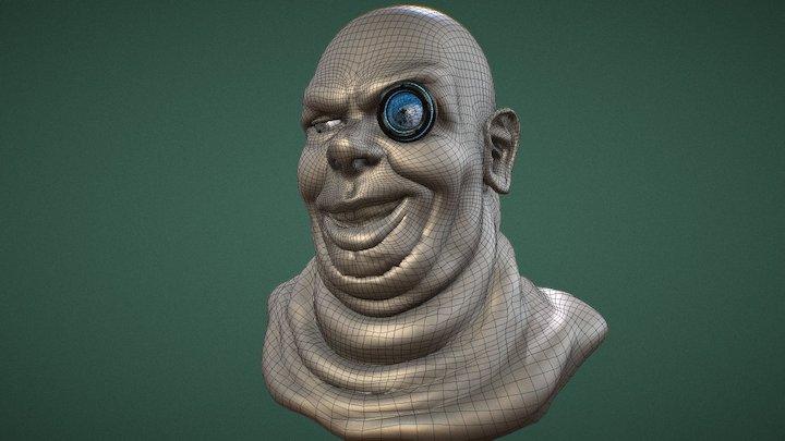 Monoculus 3D Model