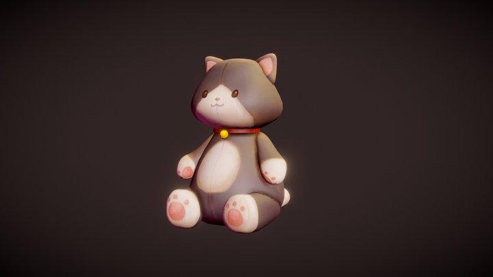 Mr. Whiskers 3D Model