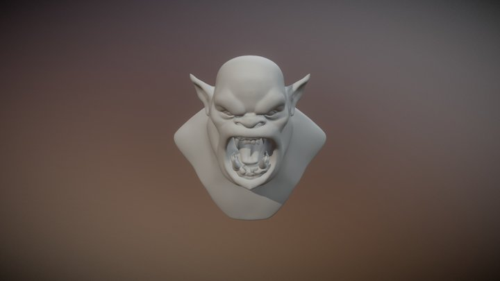 Test orc 3D Model