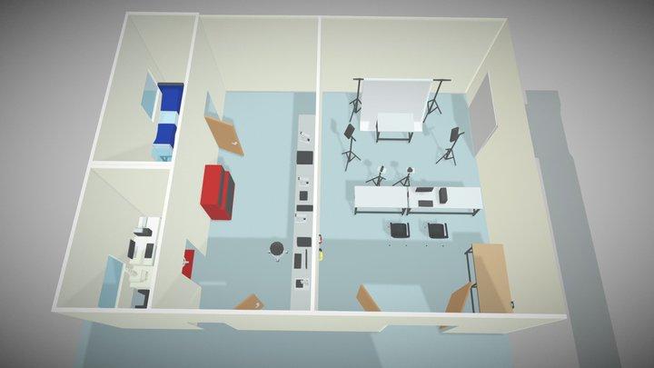 RTI Visual Imaging Laboratories 3D Model
