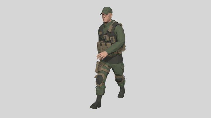 Walking-31frames 3D Model