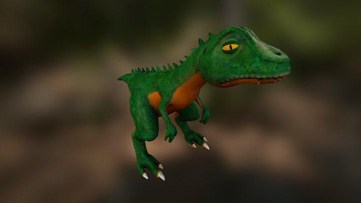 Mini Dino 3D Model