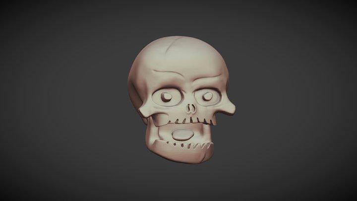Skull Brasilia Motor Point 3D Model