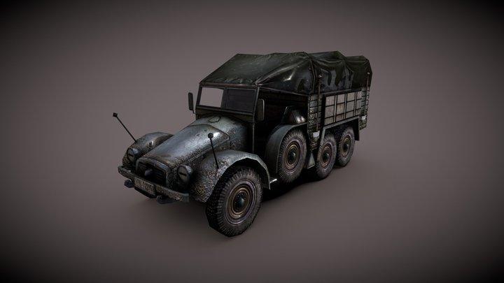 Krupp Protze 3D Model