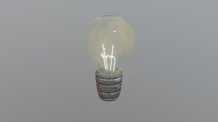 Uwu inc. retro lightbulb 3D Model