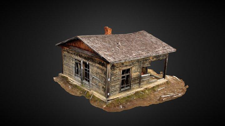 Chantier 501, camp 93, bâtiment d'exploitation 3D Model