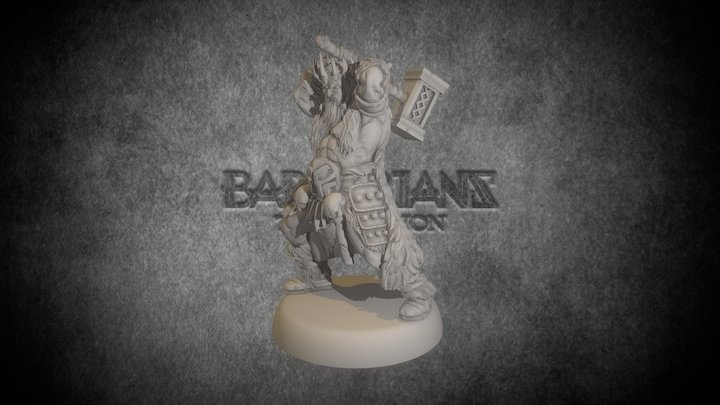 Sons of the Mountain - Barbarians: the Invasion 3D Model