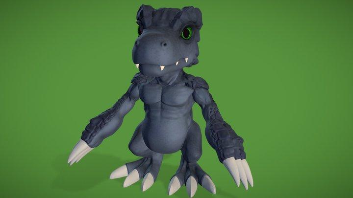Dark Agumon 3D Model