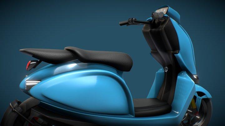 Pelican Electric Scooter 3D Model