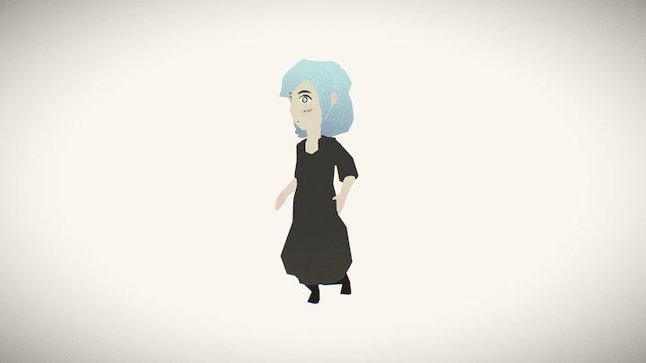 Esther Run 3D Model