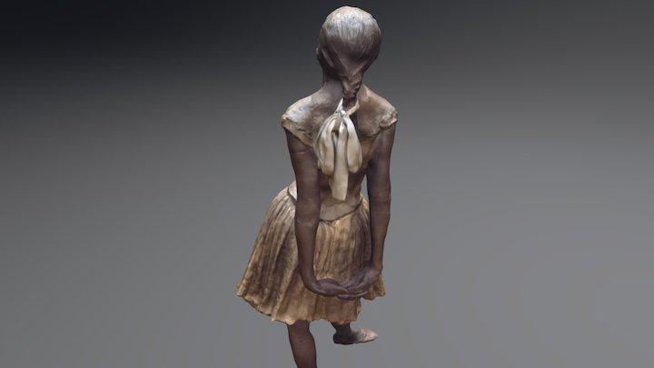 Edgar Degas - Dancer 3D Model