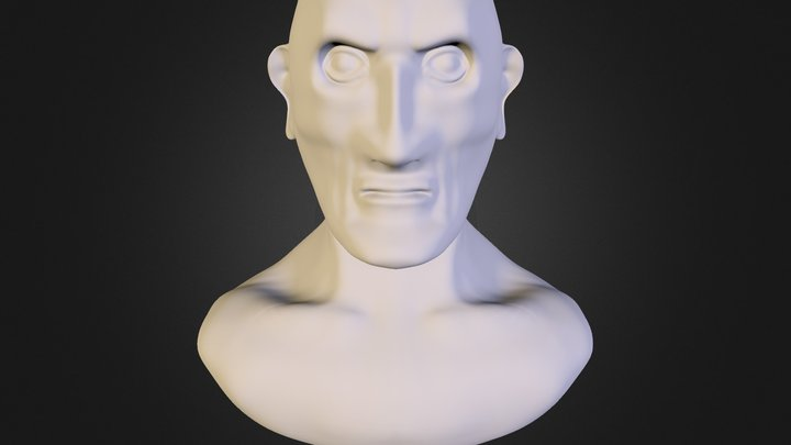 Sculpt Bust 3D Model