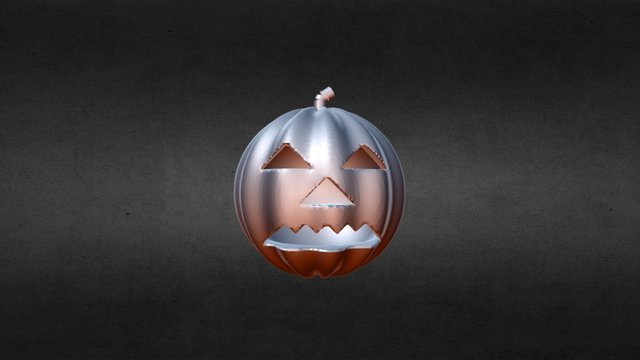 Pumpkin 3D Model