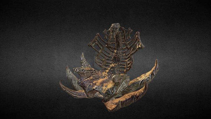 Skeletor's Throne 3D Model