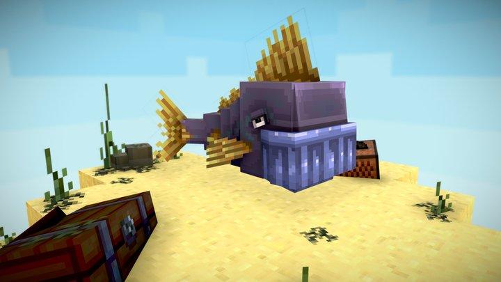 Thanos Fish 3D Model