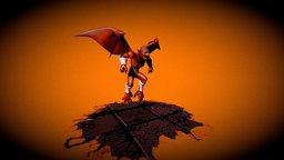 Red Blaze FanArt 3D Model