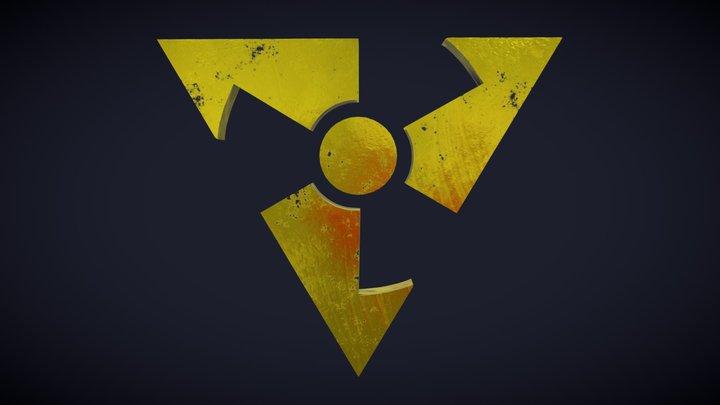 Dirty Bomb 3D Logo 3D Model