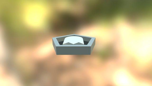 Ghost Badge 3D Model