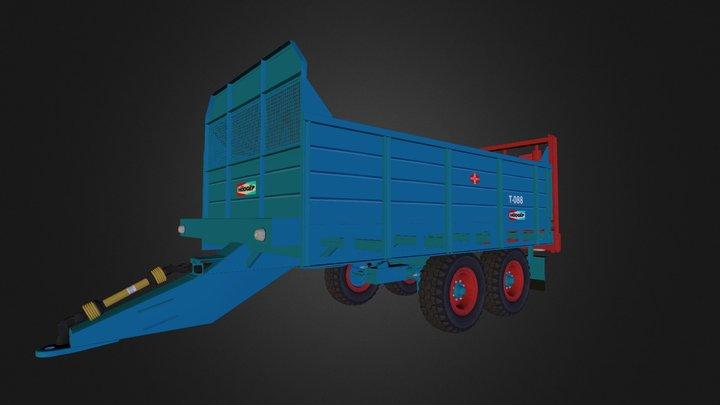 Fortschritt-T088 3D Model