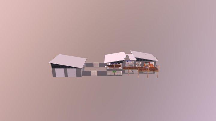 costal home TF 3D Model