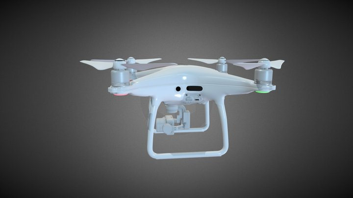 DJI Phantom 4 pro 3D model 3D Model