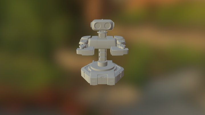 Fit Robot00 3D Model