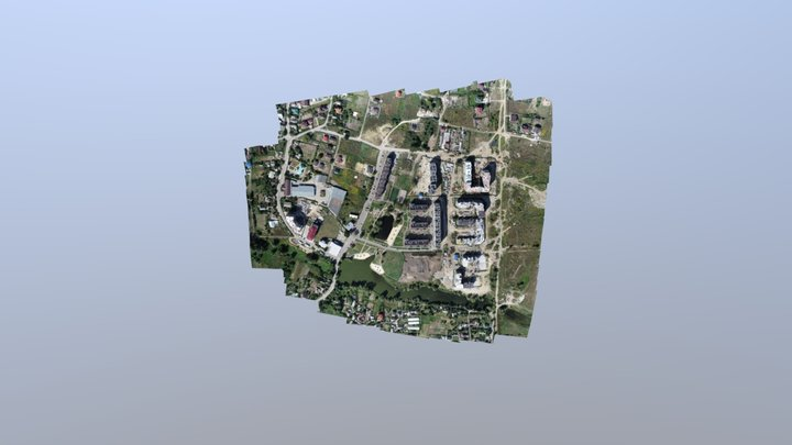 Гатне Приозерна 3D Model